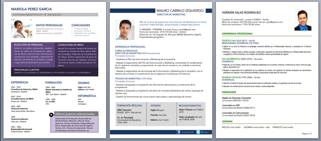 mejorar curriculum vitae  u2014 curriculum vitae